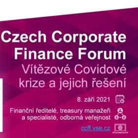 8. září: Konference Czech Corporate Finance Forum