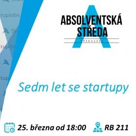 25. března 2020 Absolventská středa: Sedm let se startupy